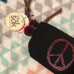 NWT Sak hand crochet small bag
